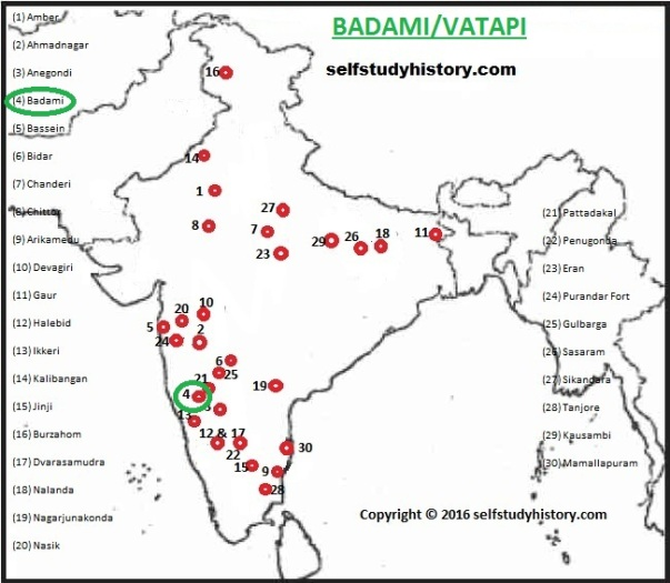 INDIAN HISTORY THROUGH MAP- PART-B