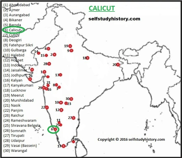 INDIAN HISTORY THROUGH MAP- PART-C